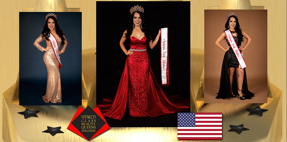 Liliana Castro Señora New Mexico 2019, World Class Beauty Queens Magazine, Photo by Creative Works-Keith Green Photography