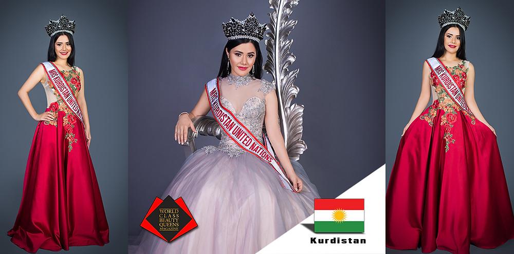 World Class Beauty Queens Magazine, Jasmine Rawat, Mrs Kurdistan United Nations 2019, Credits/  Focus Creative Vision, Adelaide South Australia