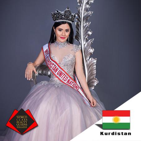 Jasmine Rawat Mrs Kurdistan United Nations 2019