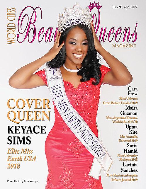 Issue 95 World Class Beauty Queens Magazine