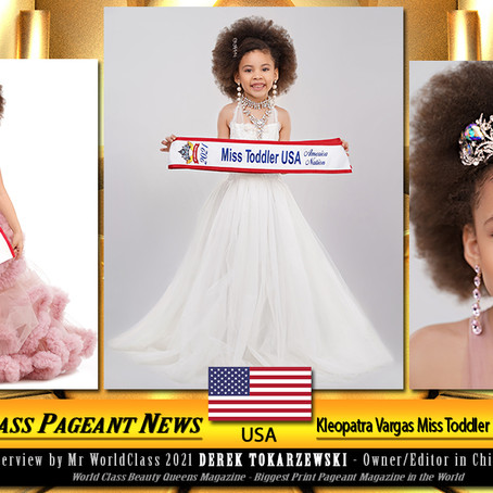 Kleopatra Vargas Miss Toddler USA America Nation 2021