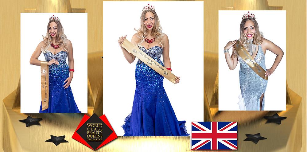 Devina Didi Davidson Miss Queen International 2019/20, World Class Beauty Queens Magazine,