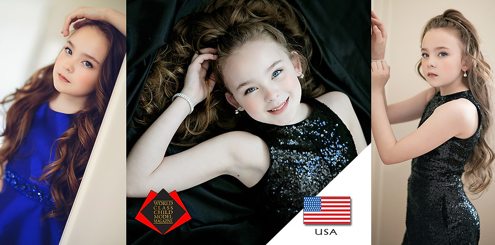 Miranda Rayne Torrey, World Class Child Model Magazine, Photos by Tess J Photography @tessjphotography Hamu by Tess J Photography