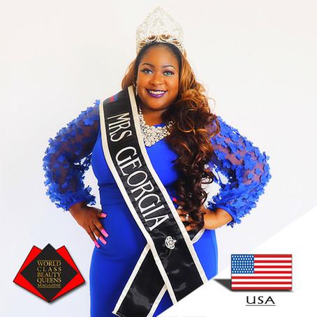 Jessica Louise Wilson-Cole Mrs. Georgia Plus America 2019