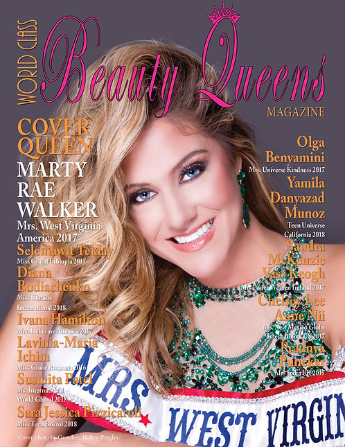 Issue 44 World Class Beauty Queens Magazine