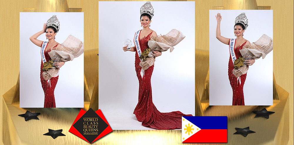 Meranie Gadiana Rahman Mrs. Philippines World 2019-2020, World Class Beauty Queens Magazine,
