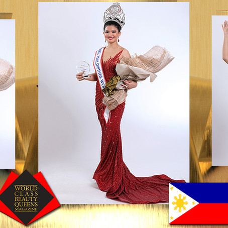 Meranie Gadiana Rahman Mrs. Philippines World 2019-2020