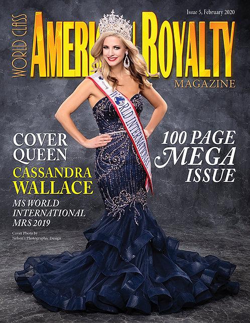 Issue 5 World Class American Royalty Magazine
