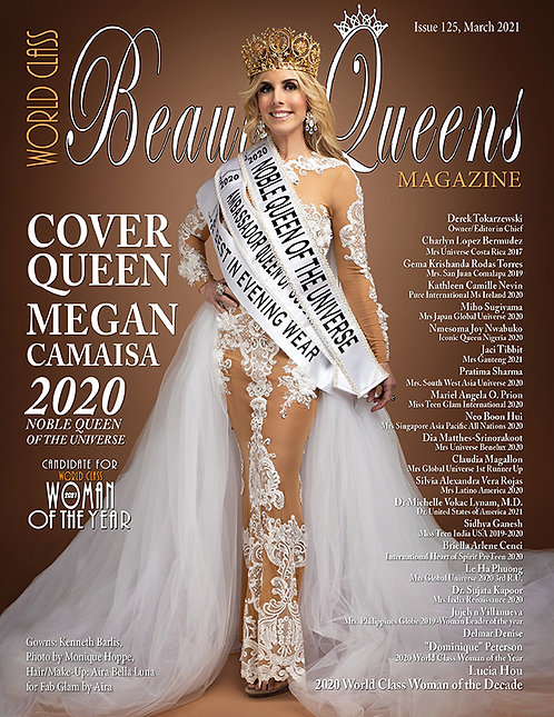 Issue 125 World Class Beauty Queens Magazine