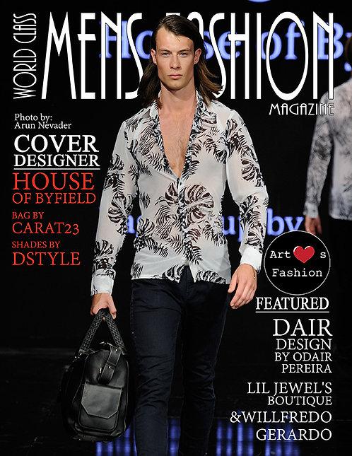 Issue 1 World Class Mens Fashion Magazine