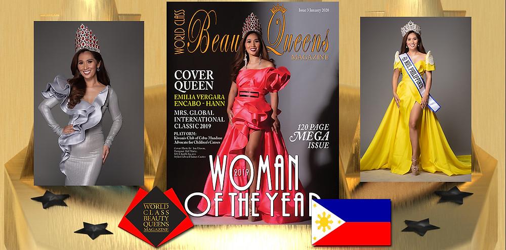 Emilia Vergara Encabo - Hann 2019 World Class Woman of the Year