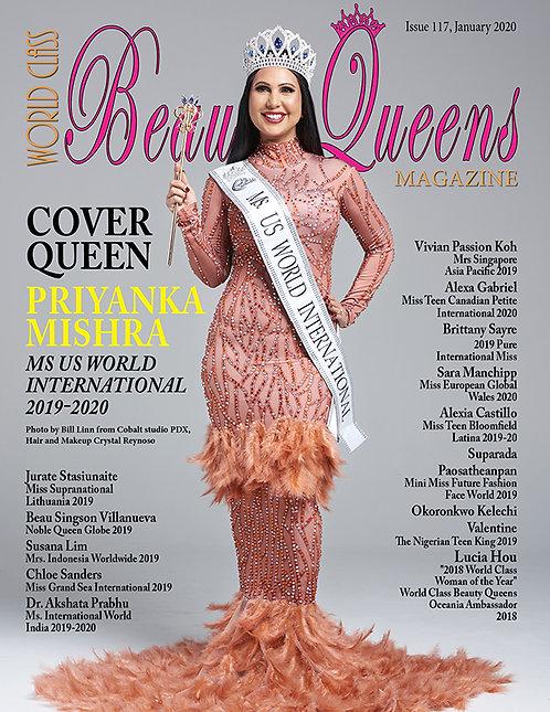 Issue 117 World Class Beauty Queens Magazine