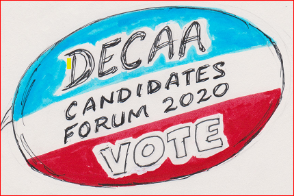 Dupost East Citizens Action Association hosting its At-Large Council Candidates Forum on Sept 17