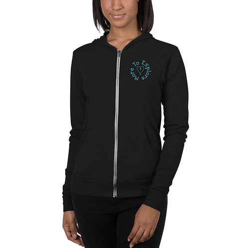 More To Explore Zip Hoodie