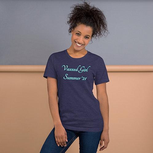 Vaxxed Girl Summer T-Shirt