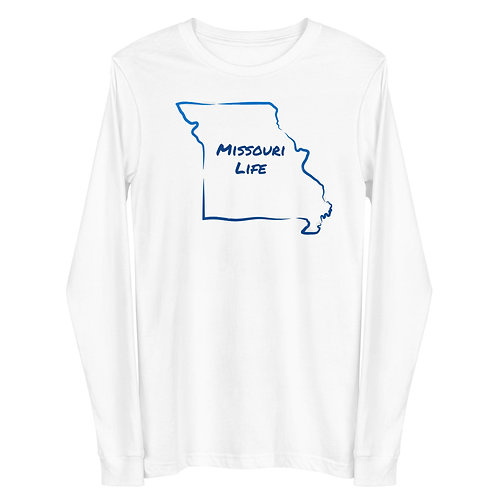 Missouri Life Long Sleeve Tee