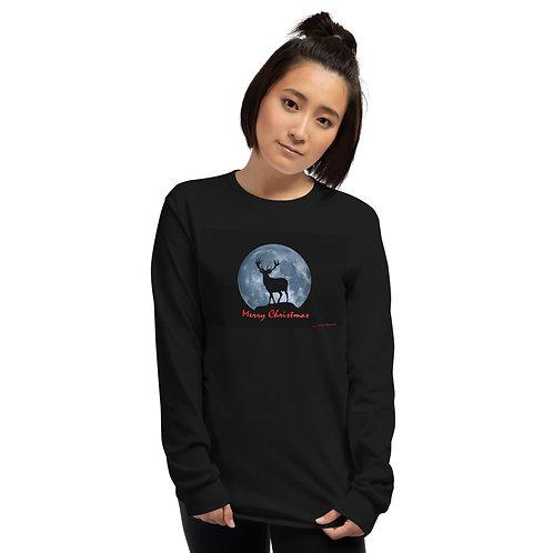 Moonlight Reindeer Sleeve Shirt