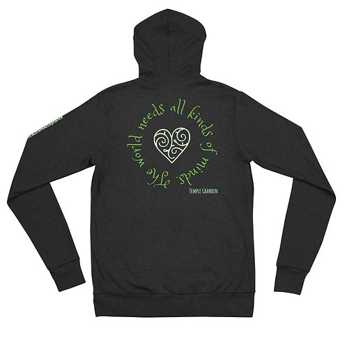 All Kinds Of Minds Zip Hoodie