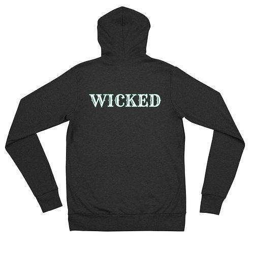 Wicked zip hoodie