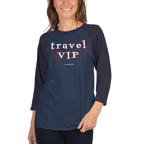 Travel VIP raglan shirt