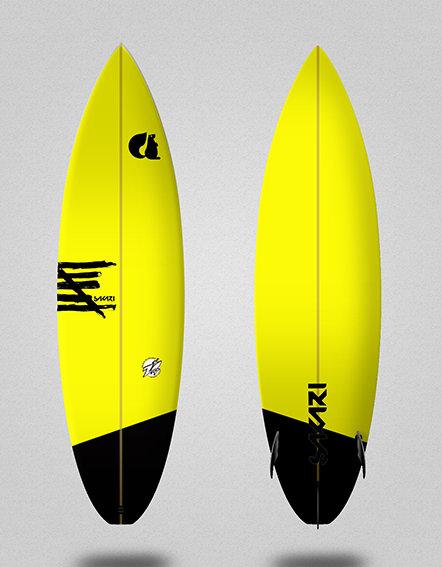 Sakari surfboard - Model Shape 009