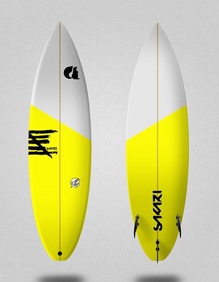 Sakari surfboard - Model Shape 008