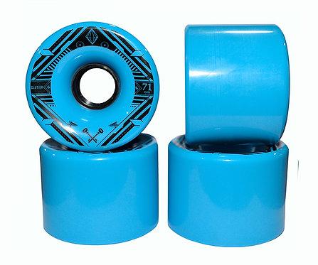 Glutier wheels : 71x52cm / 80a blue