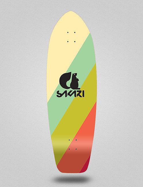 Sakari surfskate deck - Vintage 31