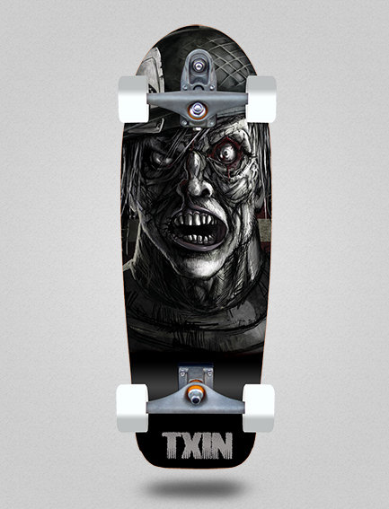 Txin surfskate - Zombie Nation 30.5