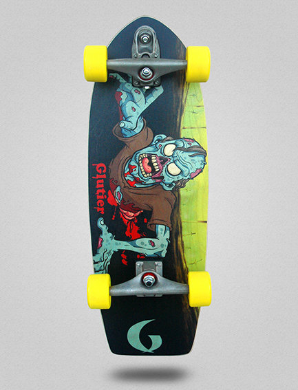 Glutier surfskate : Final Zombie 29