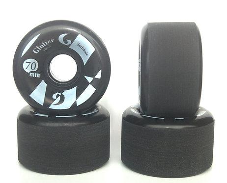 Glutier wheels : 70x42cm / 83a black