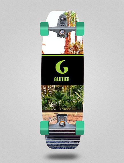 Glutier surfskate : Venice 31,5