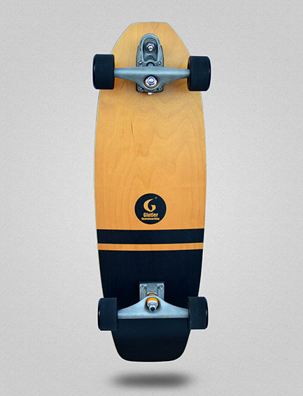 Glutier surfskate : Flame 31.5