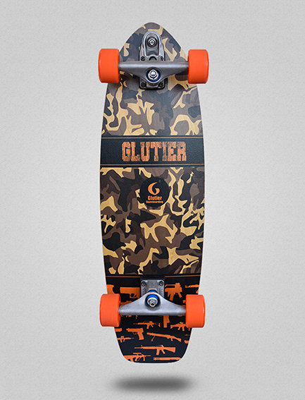 Glutier surfskate : Weapons 31