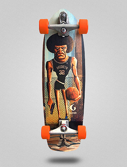 Glutier surfskate : Mamalote 34