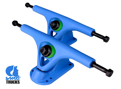 Sakari longboard trucks 180mm 45º(set 2) blue