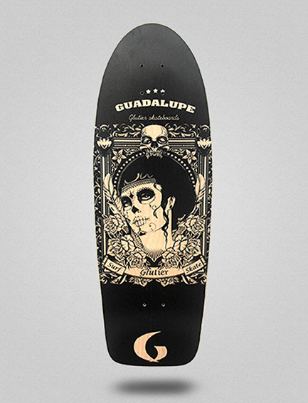 Glutier deck: Guadalupe black 32