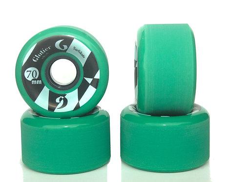 Glutier wheels : 70x42cm / 83a green