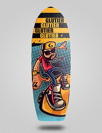 Glutier deck: John Drugs 30,5