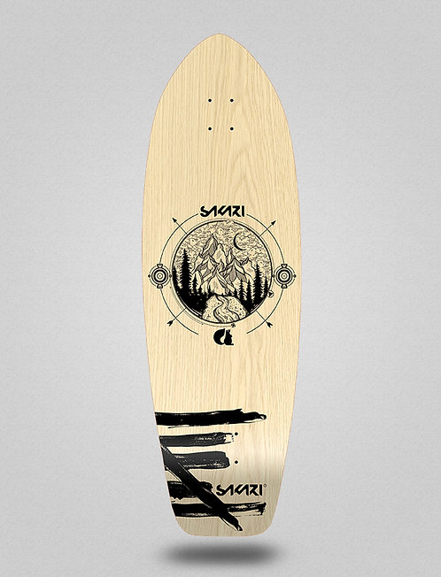 Sakari surfskate deck - Mountain 31