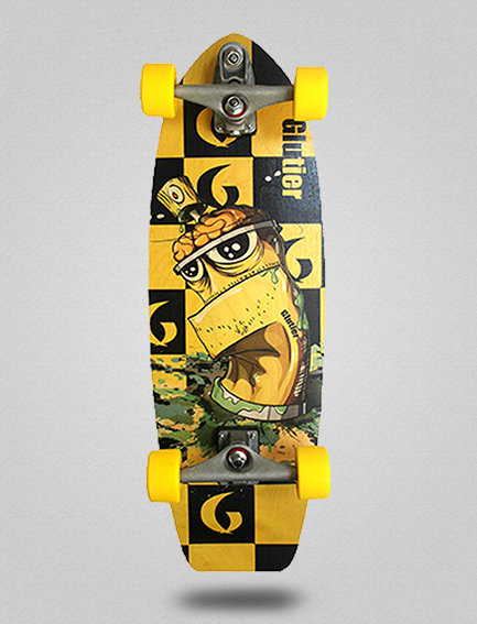 Glutier surfskate : Toxic 31