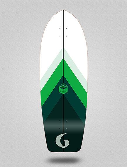 Glutier deck: Green style 29