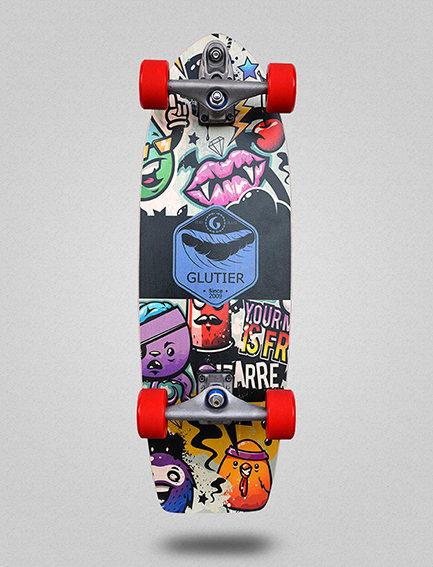 Glutier surfskate : Mix2 29