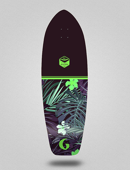 Glutier deck: Nayarit green 31
