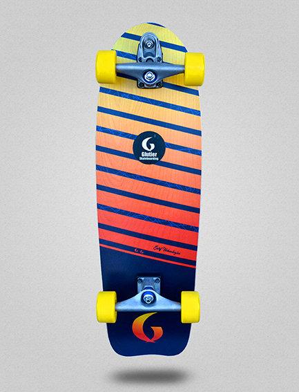 Glutier surfskate : Lumix 31