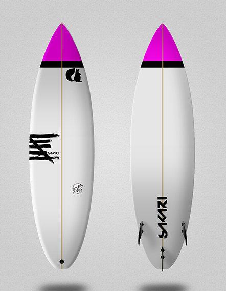 Sakari surfboard - Model Shape 019