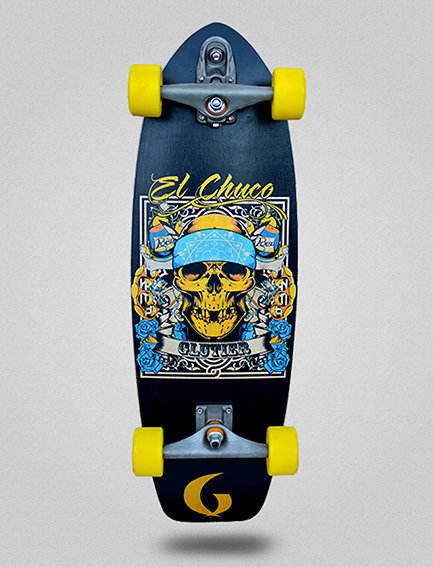 Glutier surfskate : Chuco 31