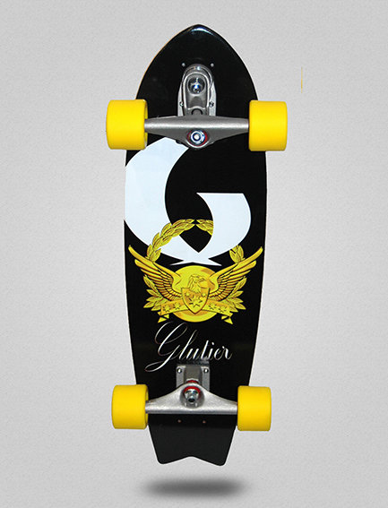 Glutier surfskate : Gold power 27 (special for childs)