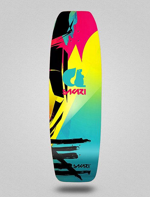 Sakari surfskate deck - Mataki 31,5