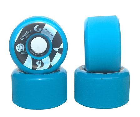 Glutier wheels : 70x42cm / 80a blue